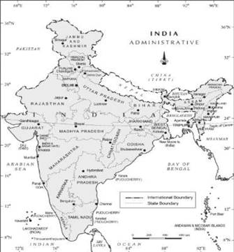 India - Location class 11 Notes Geography | myCBSEguide