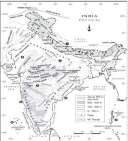 Structure and Physiography class 11 Notes Geography | myCBSEguide