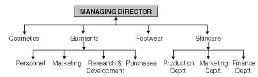 Organizing class 12 Notes Business Studies