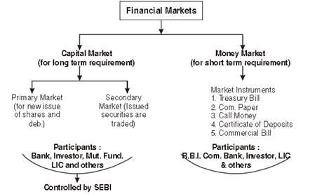 Financial Markets class 12 Notes Business Studies | myCBSEguide